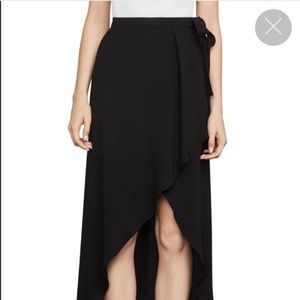 "[BCBGMAXAZRIA] Black ""Roxy"" Maxi Skirt - Large"